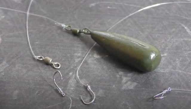 Донная уловистая снасть для рыбалки на карпа, карася, амура