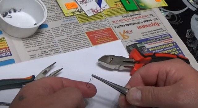 Изготовление приманки для наноджига