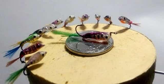 Приманка «Малёк-Гаврик» для ловли окуня и плотвы зимой
